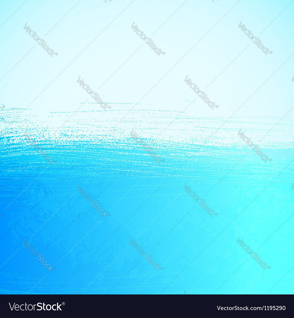 Abstract bright painted blue ocean background vector | Price: 1 Credit (USD $1)