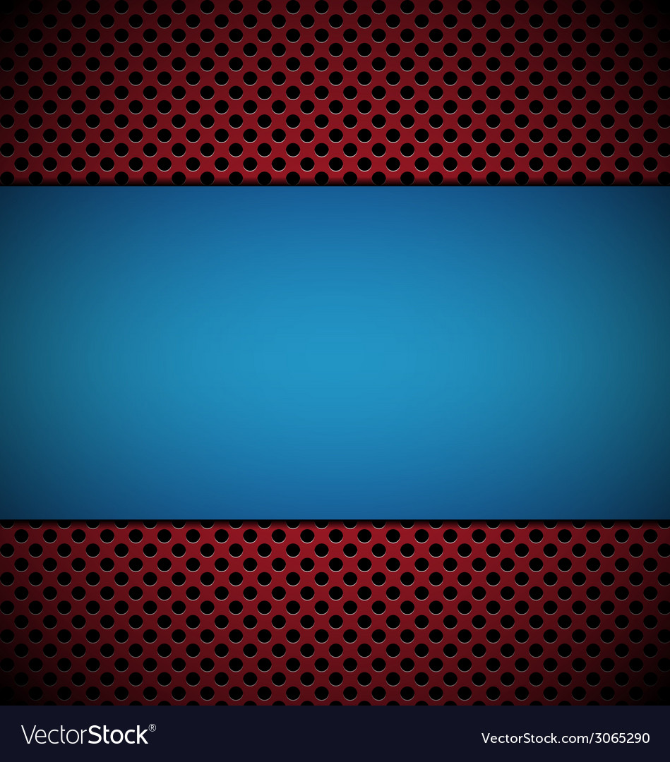 Blue red gill vector | Price: 1 Credit (USD $1)
