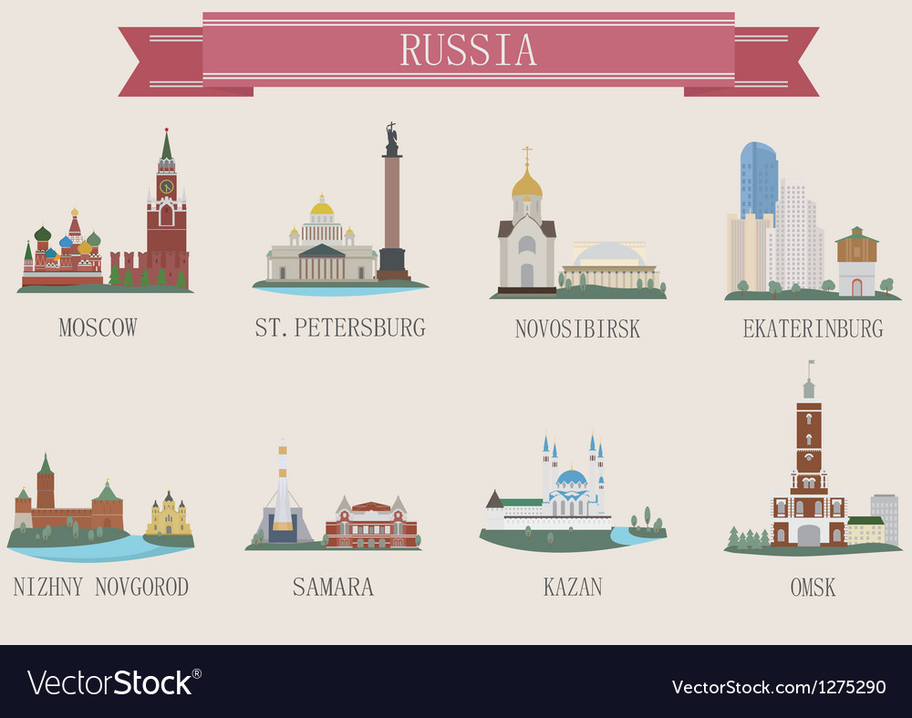 Russia vector | Price: 3 Credit (USD $3)