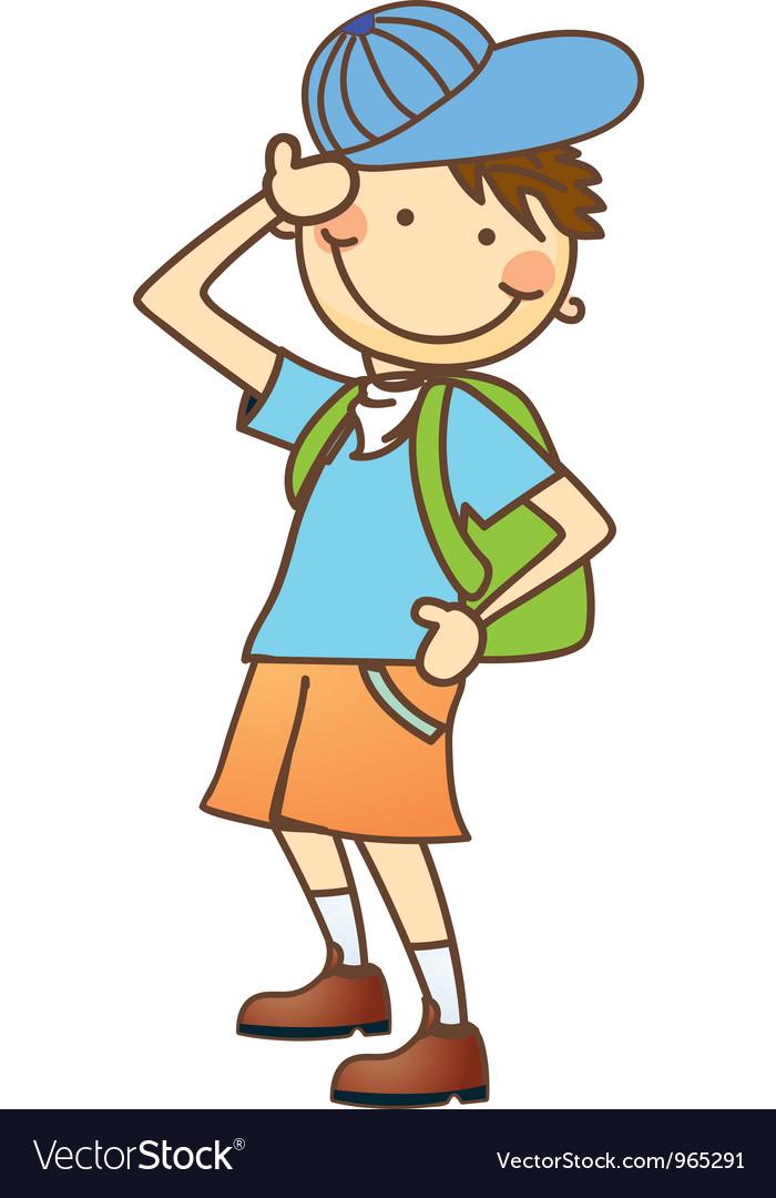 Cute cartoon children vector | Price: 1 Credit (USD $1)