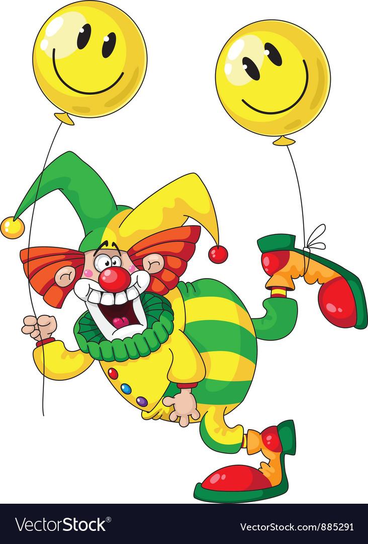 Funny clown vector | Price: 3 Credit (USD $3)