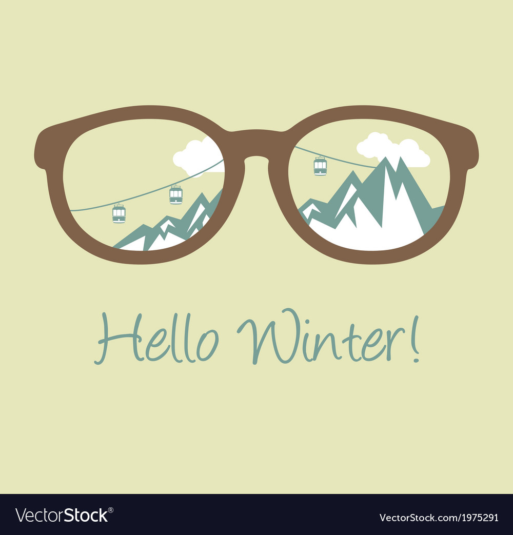 Hello winter2 vector | Price: 1 Credit (USD $1)