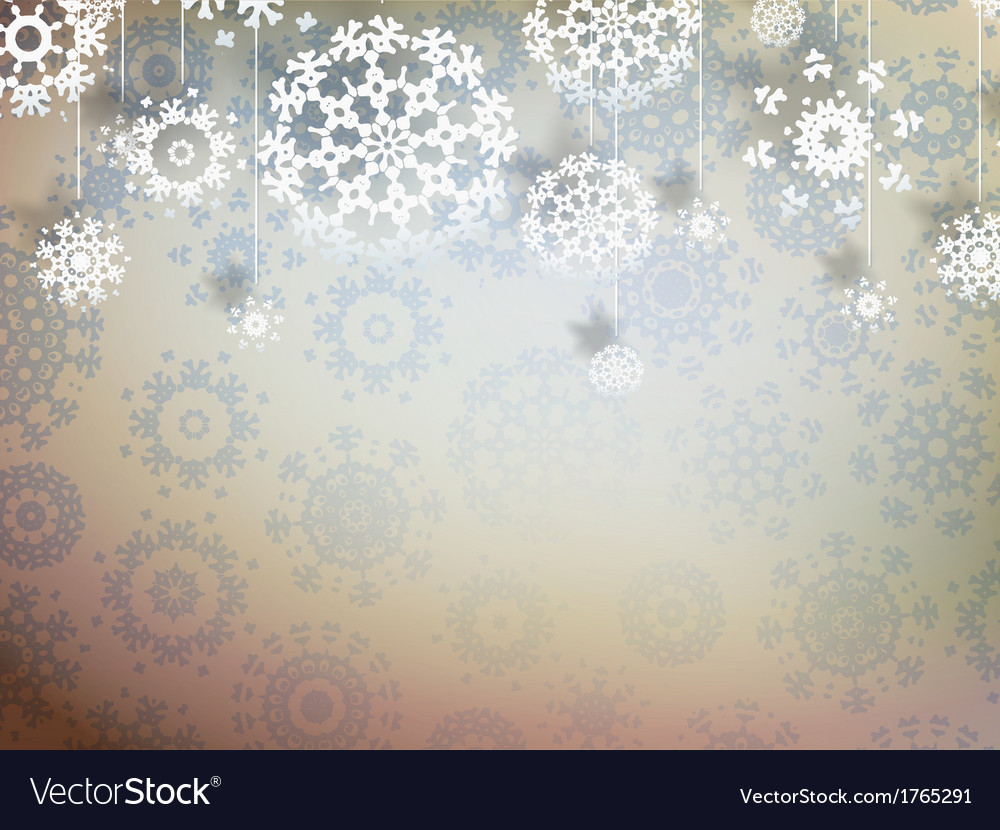 High definition snowflakes eps 10 vector | Price: 1 Credit (USD $1)