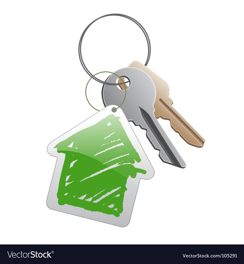 Keys with trinket vector | Price: 1 Credit (USD $1)