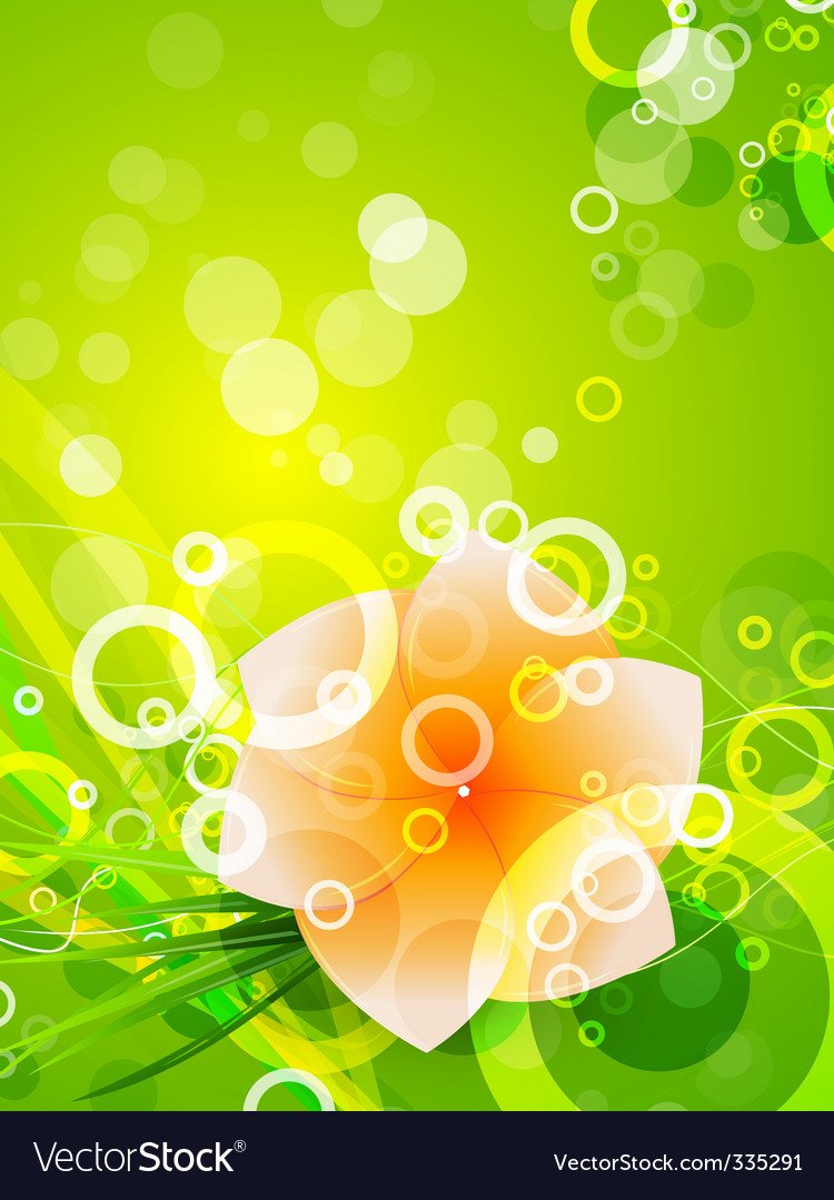 Summer abstract background vector | Price: 1 Credit (USD $1)