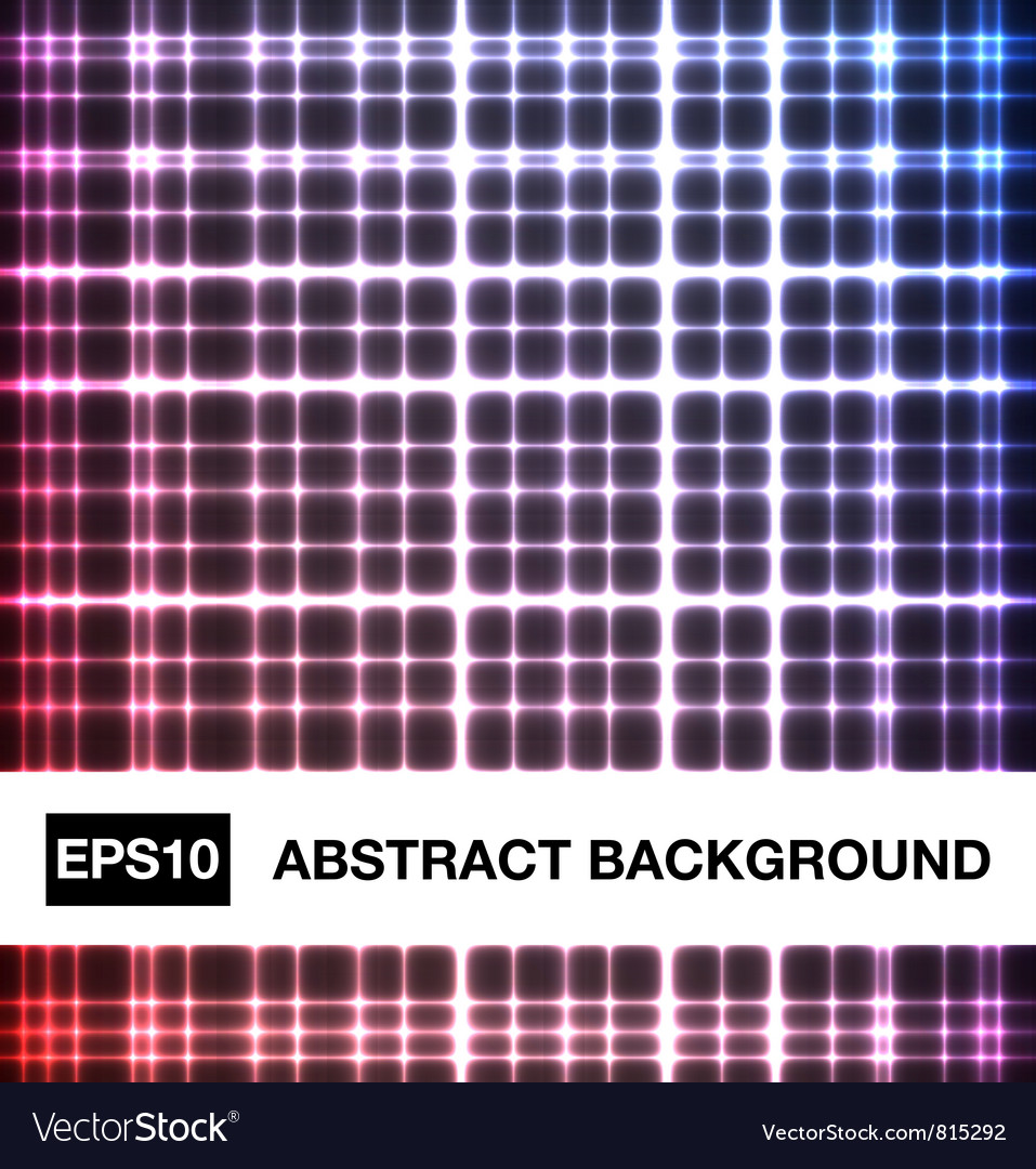 Abstract neon crossed lines vector | Price: 1 Credit (USD $1)