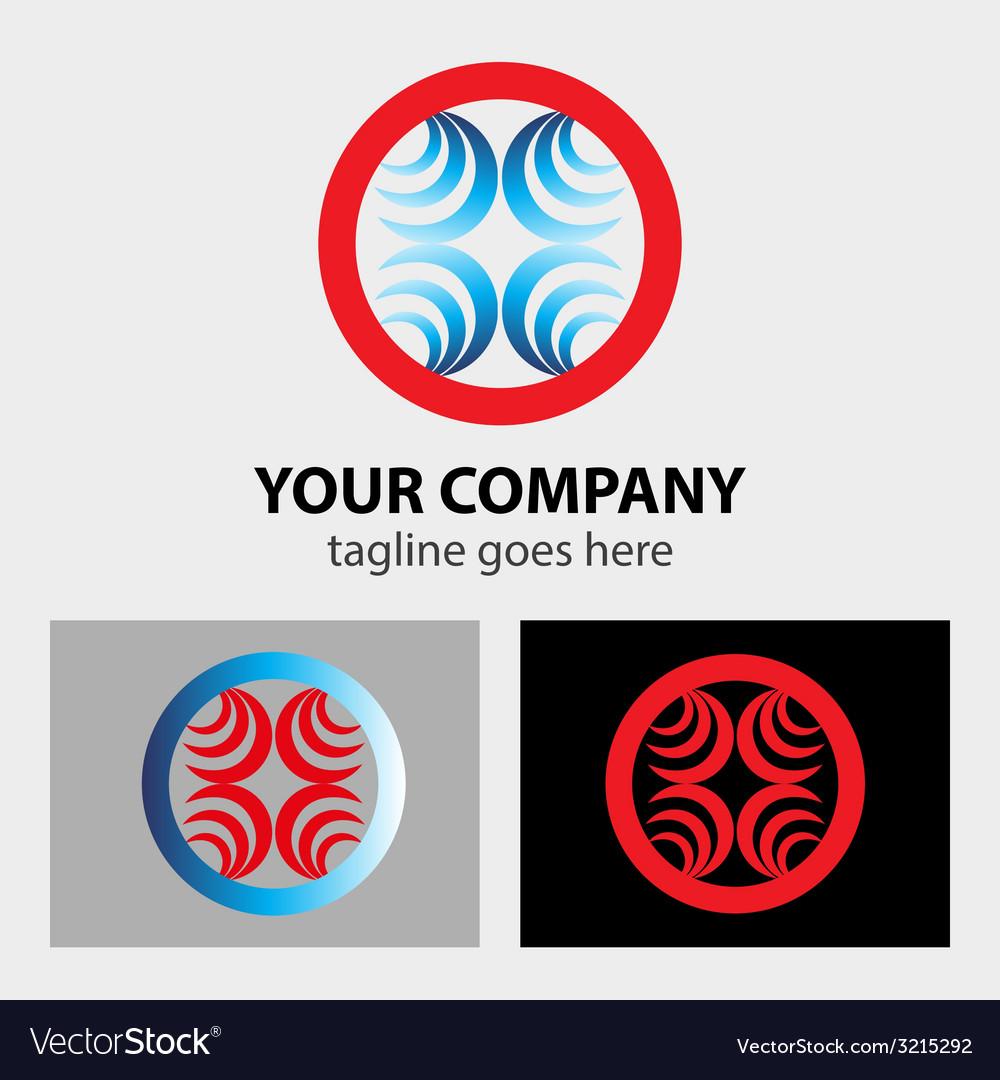 Decorate vintage logo symbol vector | Price: 1 Credit (USD $1)