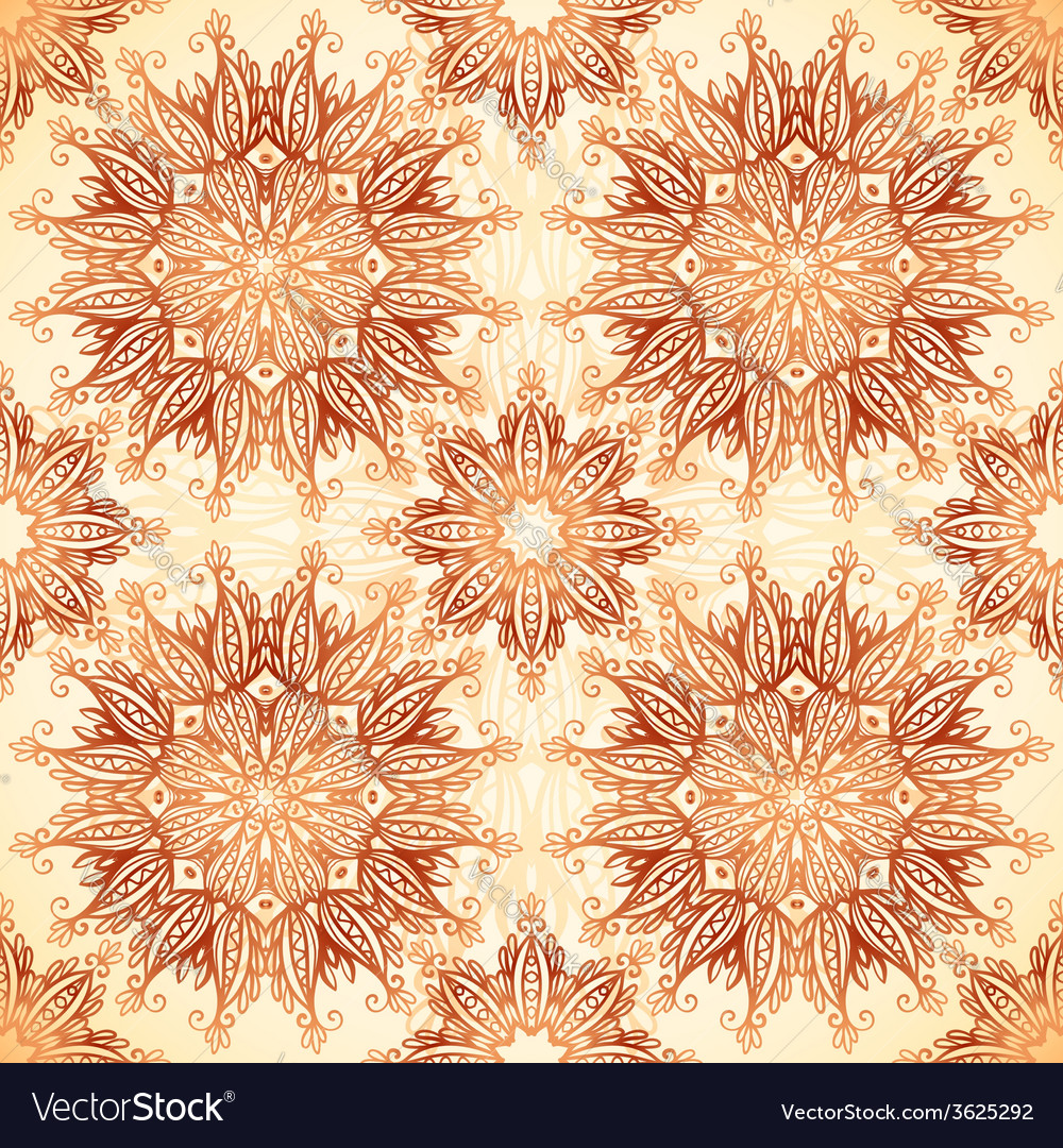Vintage colors abstract stars seamless pattern vector | Price: 1 Credit (USD $1)