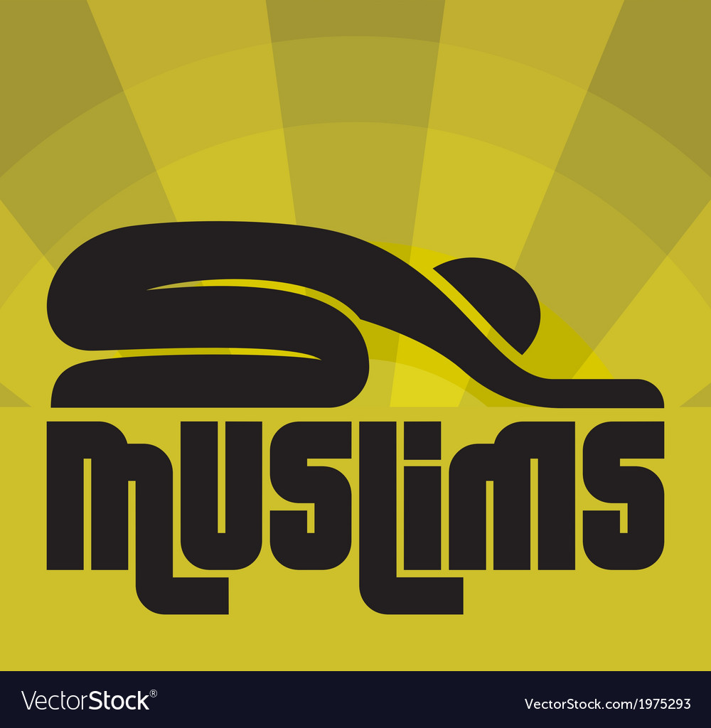 Islam muslims3 vector | Price: 1 Credit (USD $1)