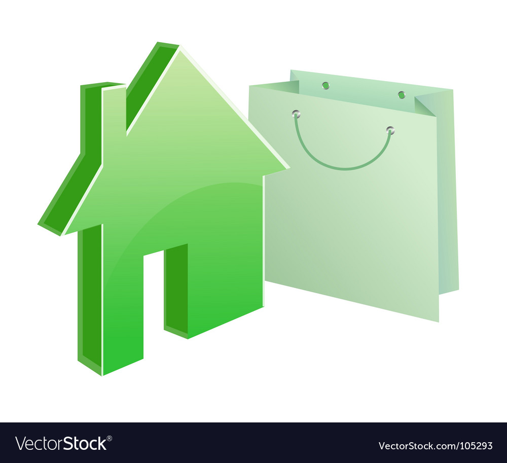 Purchased house vector | Price: 1 Credit (USD $1)