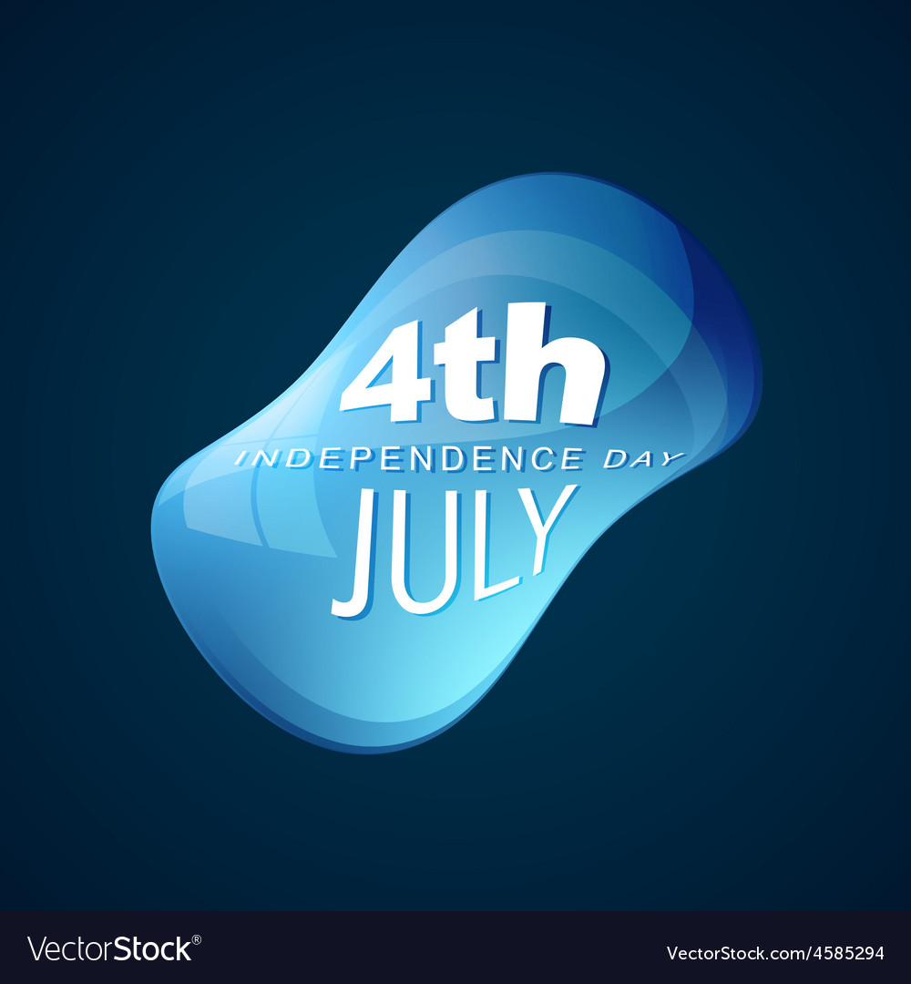 4th of july design vector | Price: 1 Credit (USD $1)