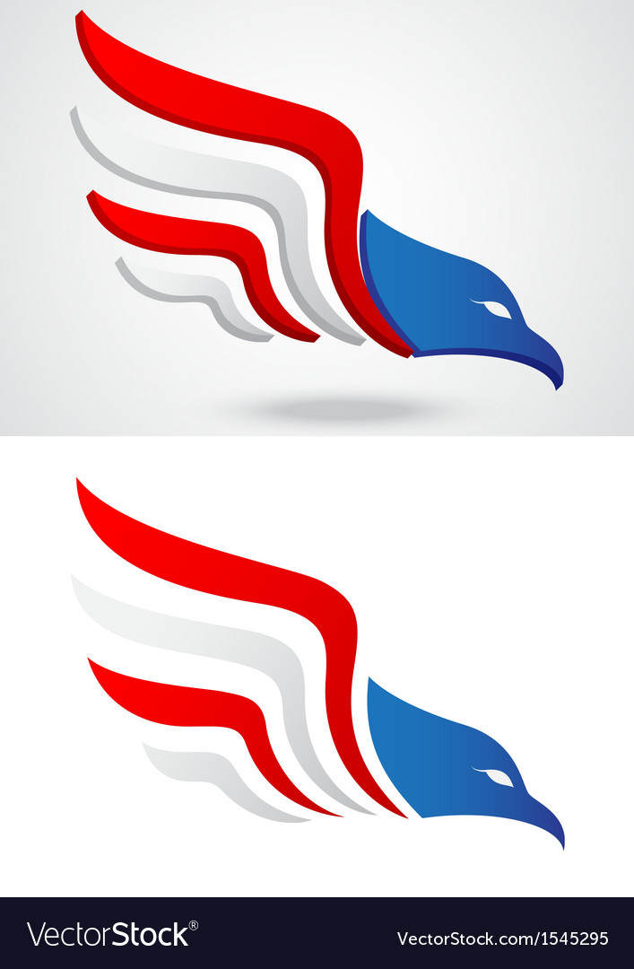 American eagle icon vector | Price: 1 Credit (USD $1)