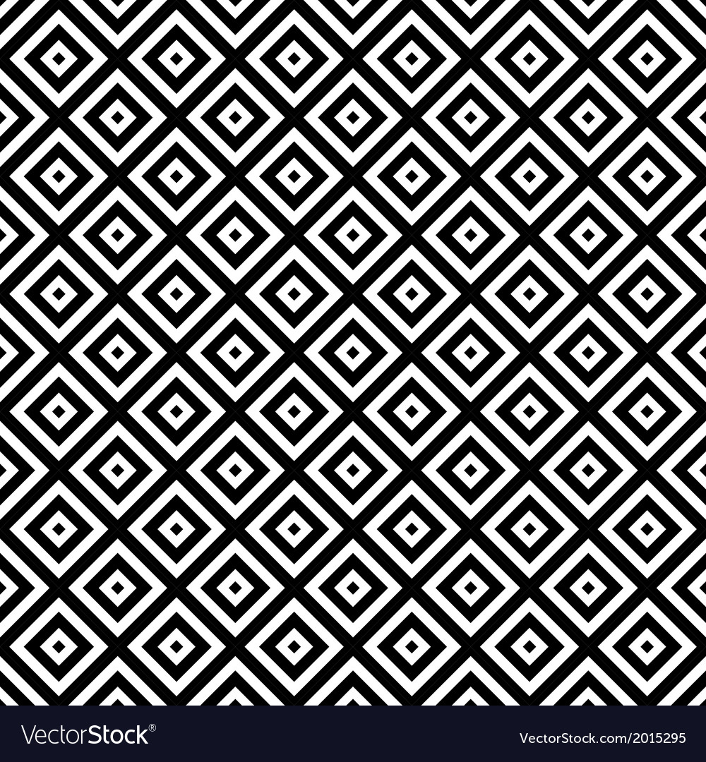 Black and white hypnotic background seamless vector | Price: 1 Credit (USD $1)