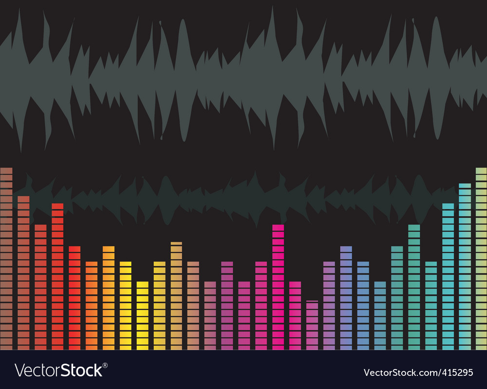 Music graph vector | Price: 1 Credit (USD $1)