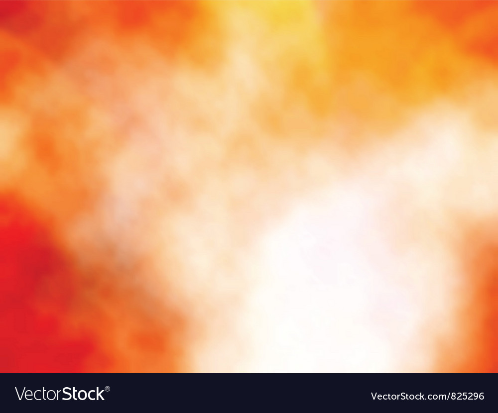 Orange mist vector | Price: 1 Credit (USD $1)