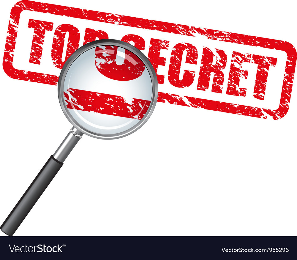 Top secret vector | Price: 1 Credit (USD $1)