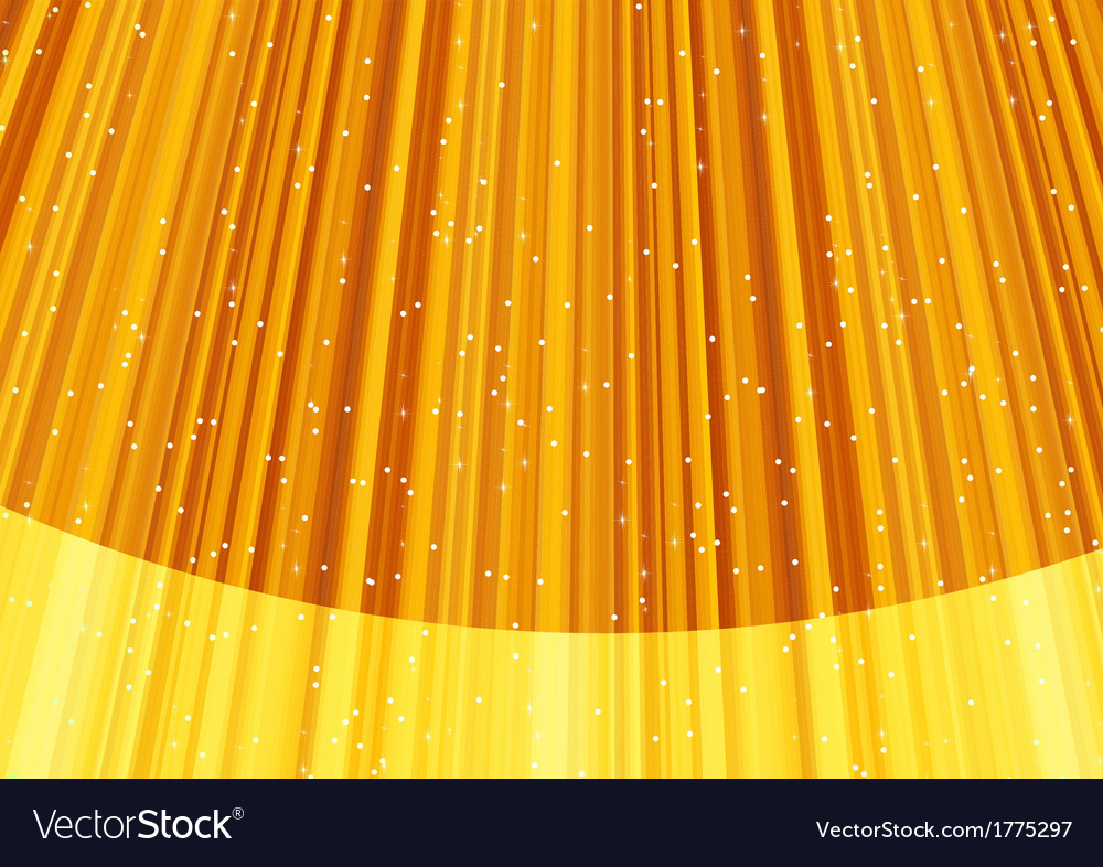 Magic stars on rays of golden light vector | Price: 1 Credit (USD $1)