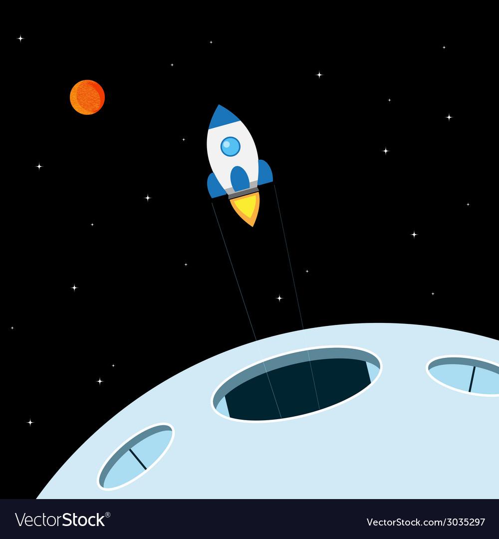 Rocket ride vector   Price: 1 Credit (USD $1)