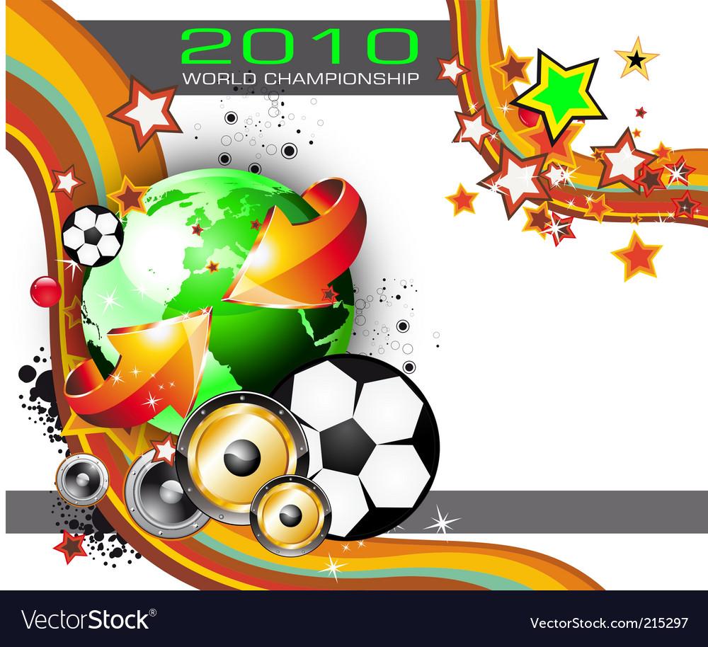 World football championship vector | Price: 3 Credit (USD $3)