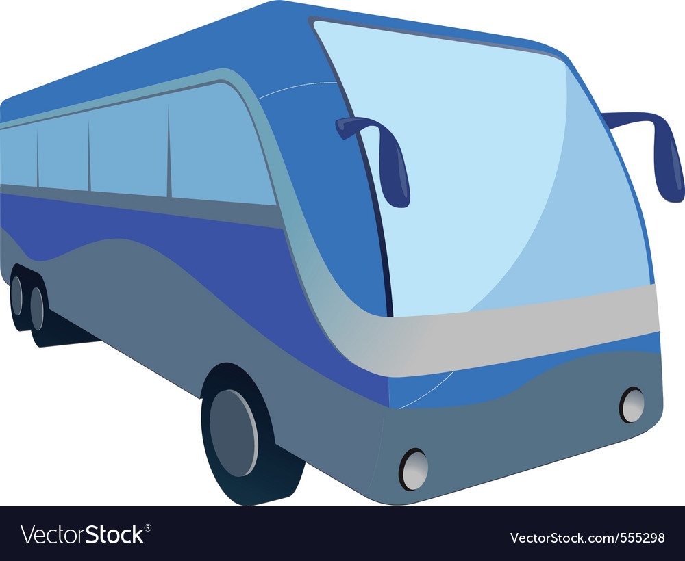 Bus transit vector | Price: 1 Credit (USD $1)