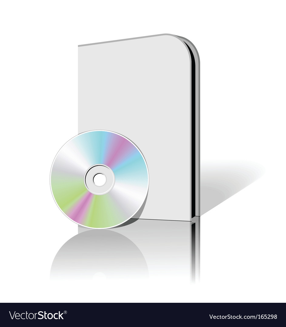 Cd dvd box vector | Price: 1 Credit (USD $1)