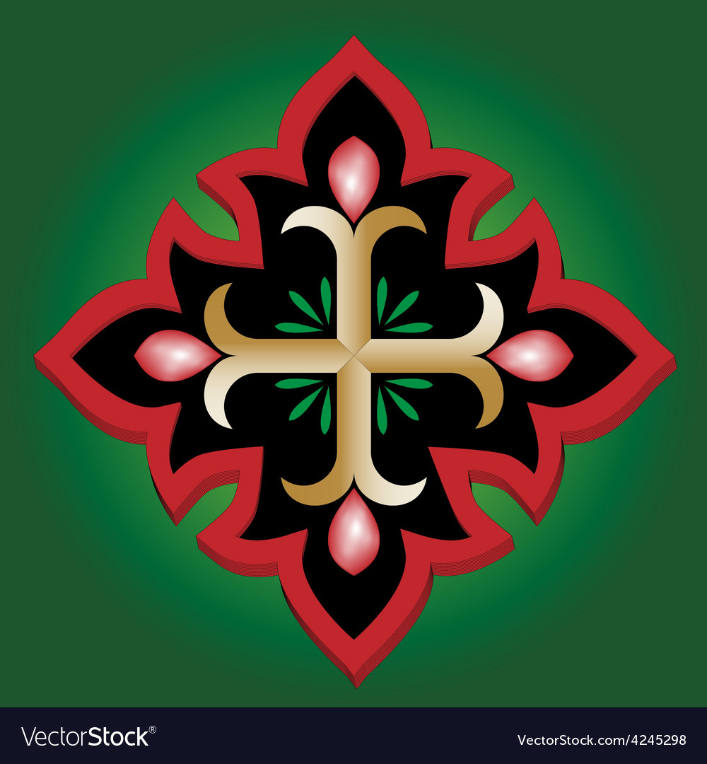 Christian anchor holy cross vector | Price: 1 Credit (USD $1)