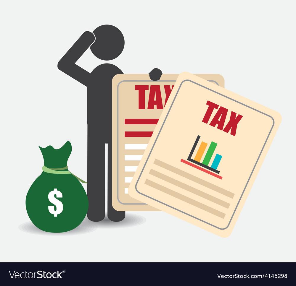 Taxes design vector   Price: 1 Credit (USD $1)