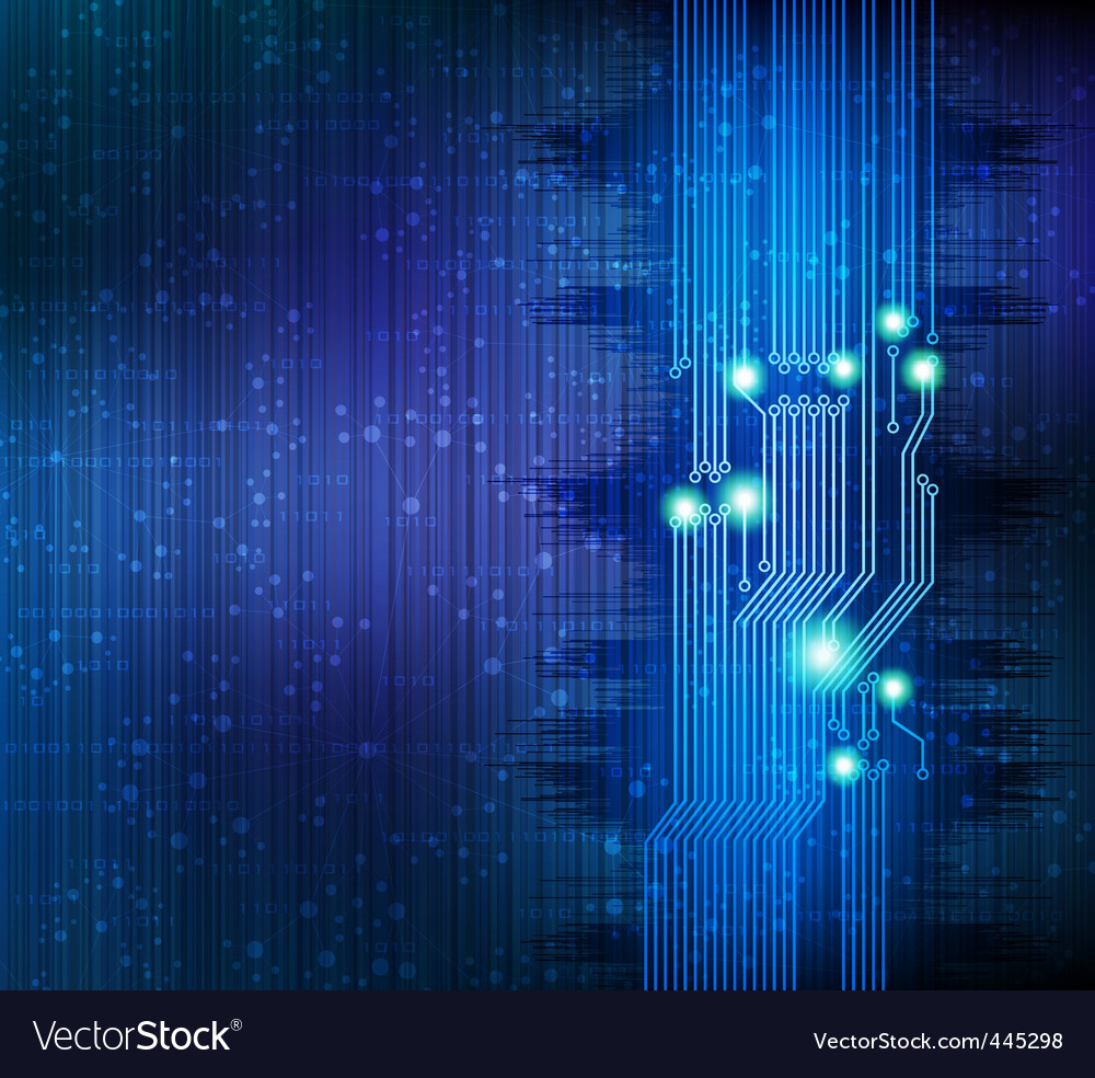 Technology theme background vector | Price: 1 Credit (USD $1)