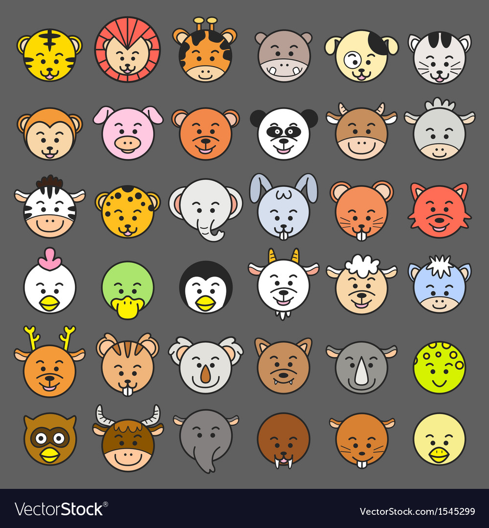 Animal icon vector | Price: 1 Credit (USD $1)