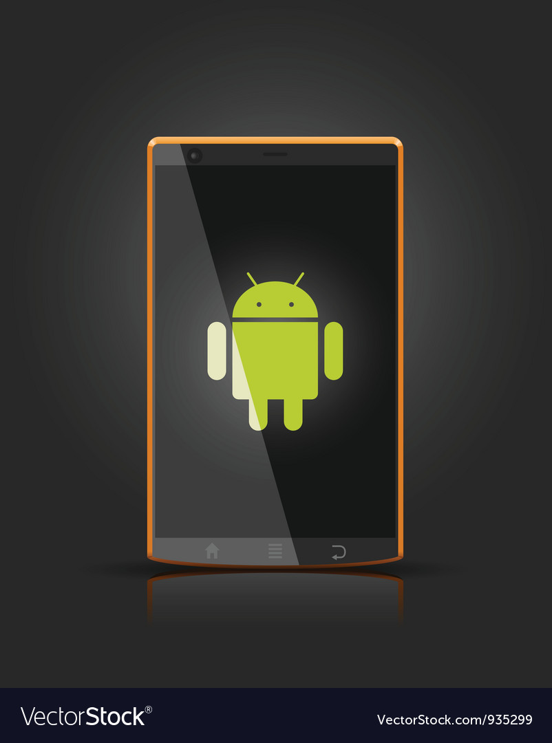 Device android vector | Price: 1 Credit (USD $1)