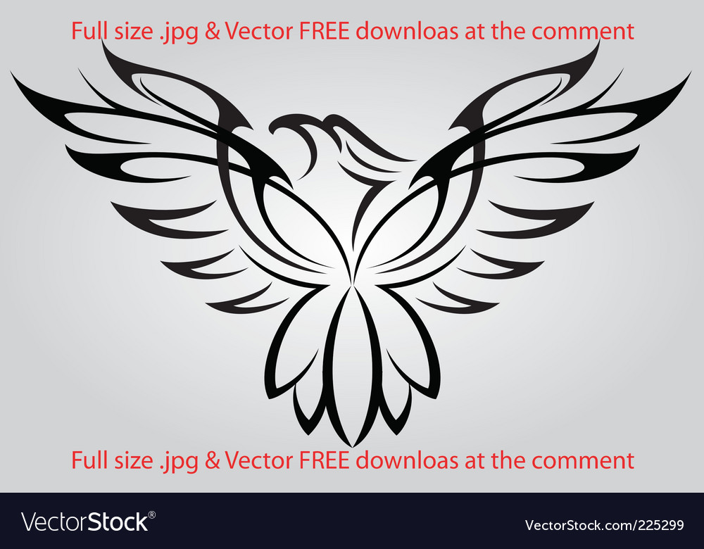 Eagle vector | Price: 1 Credit (USD $1)