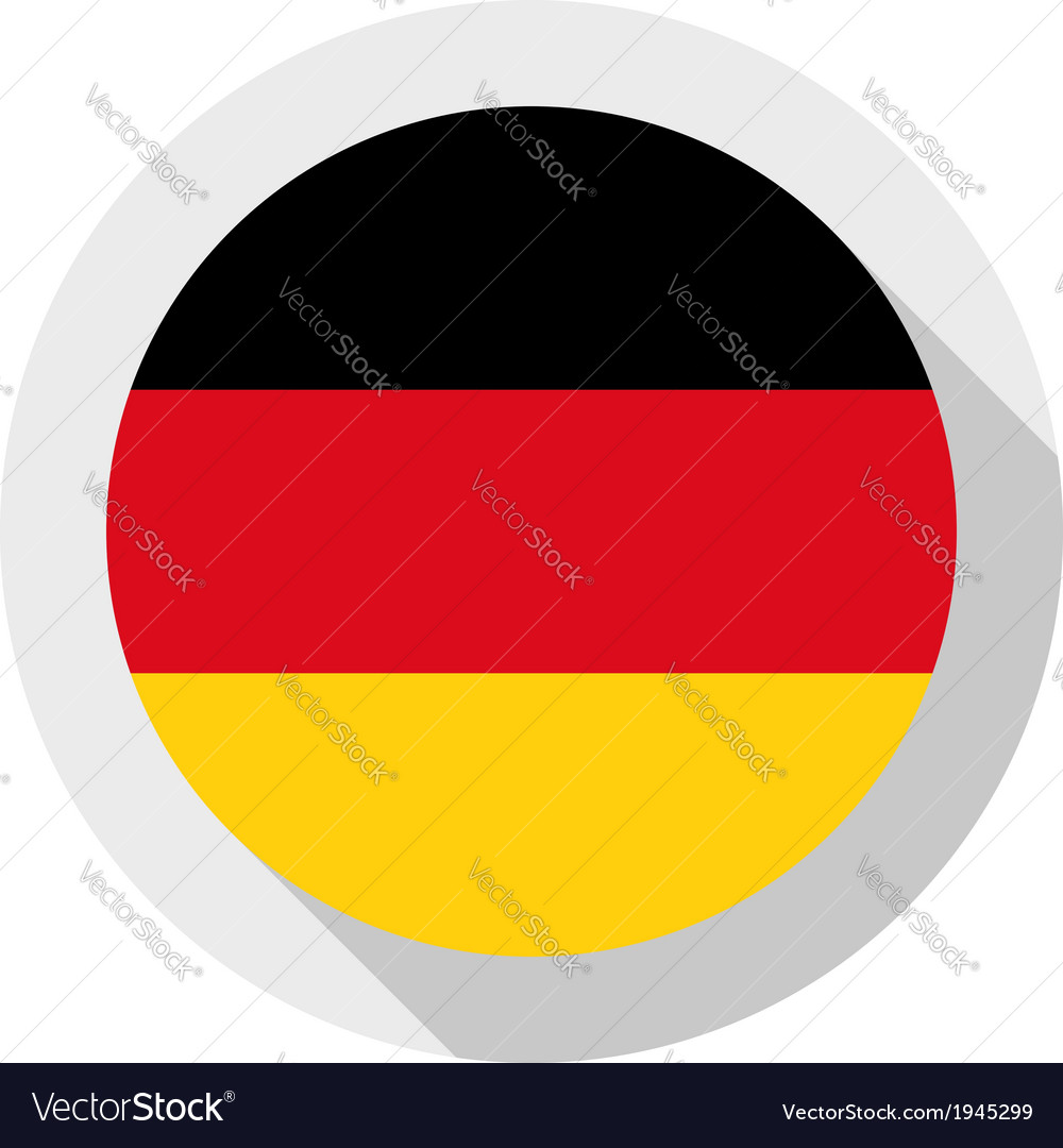 Flag of germany vector | Price: 1 Credit (USD $1)