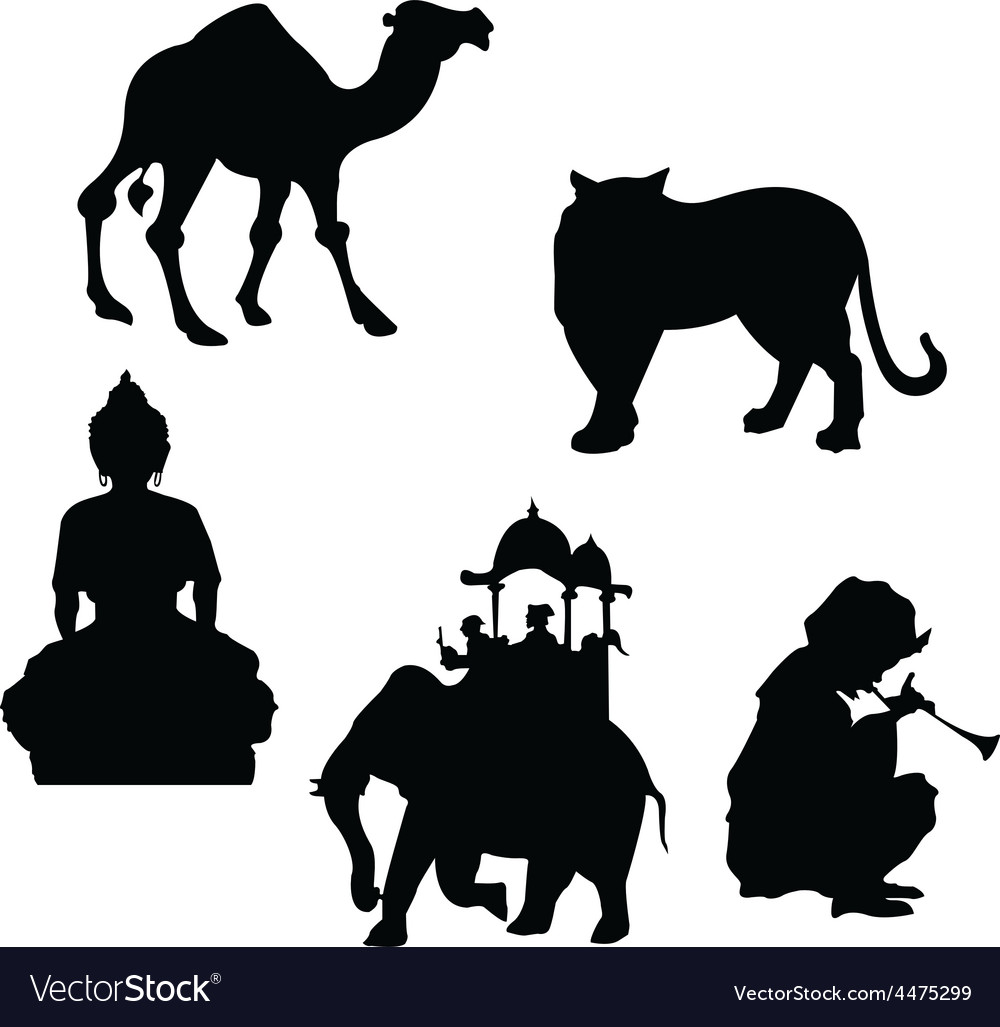 Indian elements vector | Price: 1 Credit (USD $1)