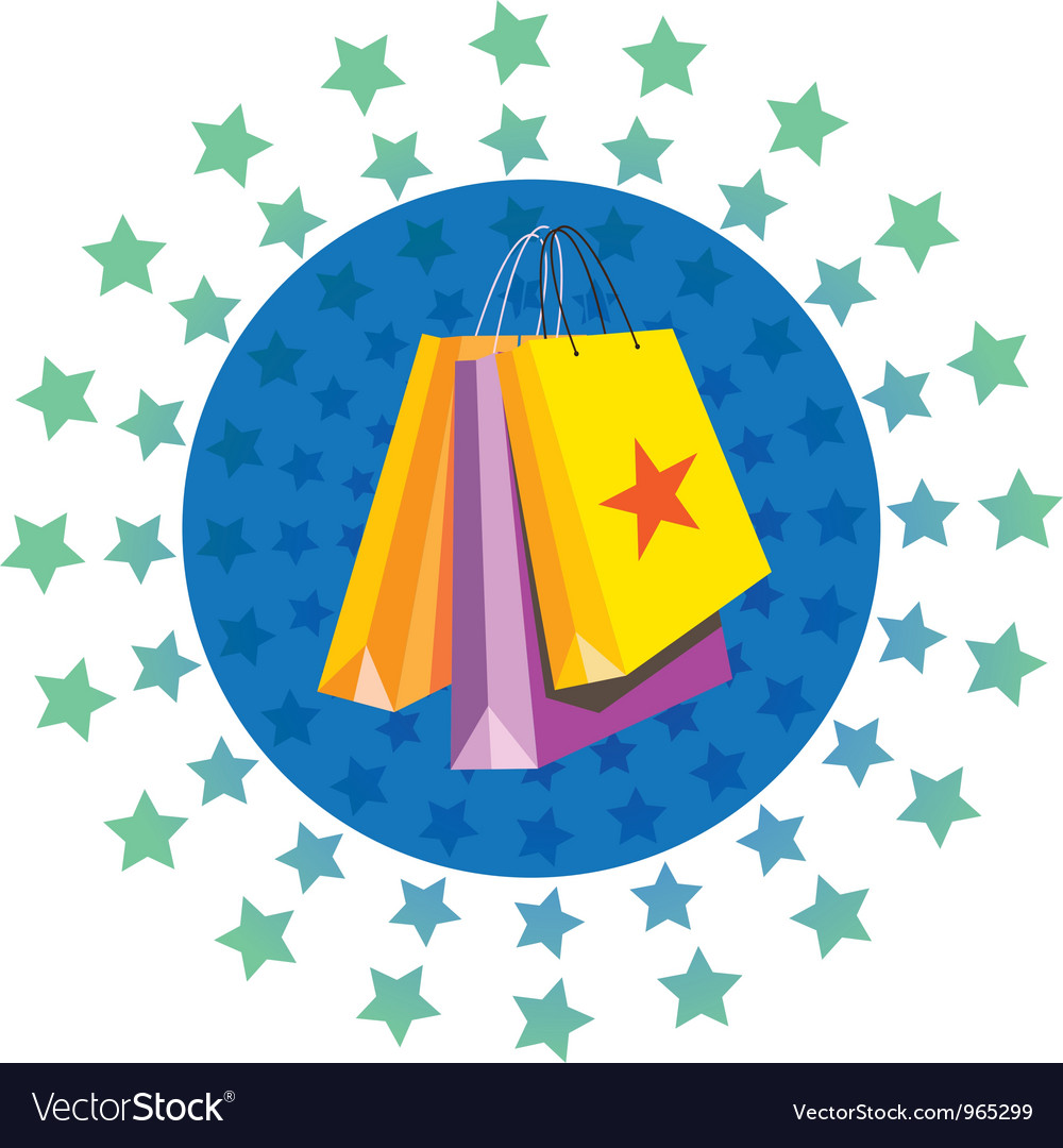 Paperbag vector