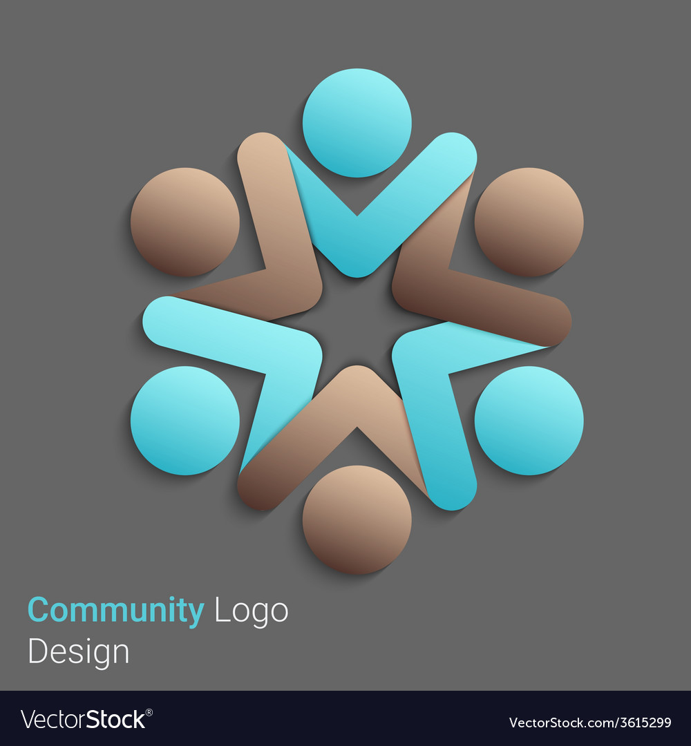 Social network logo vector | Price: 1 Credit (USD $1)