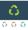 Recycle sign for eco environments vector
