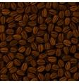 Coffee beans seamless vector