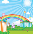 Background circus vector