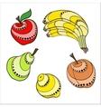 Set fruit vector