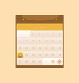 Design schedule monthly april 2014 calendar vector