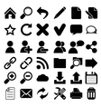Web internet icons vector