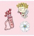 Love cute icons vector