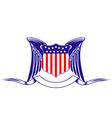 Usa heraldry symbol vector