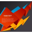 Abstract speech bubble vector