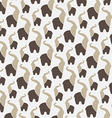 Elephant background vector