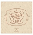 Vintage label - its my life vector