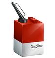 A gasoline container vector