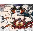 Heraldic fantasy vector