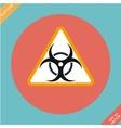 Warning symbol biohazard - vector