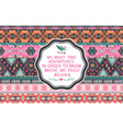 Hipster seamless aztec pattern vector